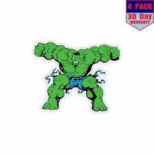 Hulk 4 Stickers 4x4 Inch Sticker Decal Ebay