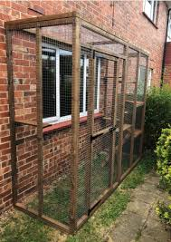 Catio 6ft X 3ft X 7ft 5 High With Mesh Roof Wire Shop Ireland