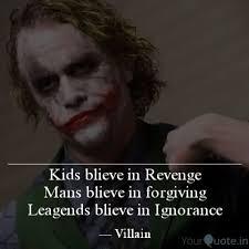 joker official quote villain quotes yourquote