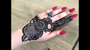 mehndi design simple and beautiful arabic style