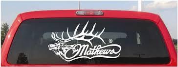 Mathews Archery Elk Decal Mathews Decals Lve Decals