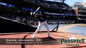 Osiris Johnson, SS, Encinal High School Class of 2018, Swing Mechanics at  240 FPS - YouTube