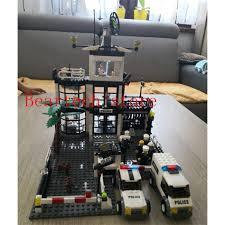 Bộ đồ chơi Lego lắp ráp lego phong cách thành phố cảnh sát cho bé giảm chỉ  còn 704,000 đ