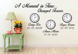 A Moment In Time Changed Forever Custom Name And Birthdate Etsy