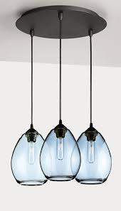 sky modern glass pendants group of
