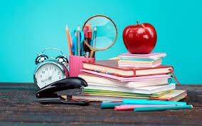 تحميل خلفيات العودة إلى المدرسة اللوازم المدرسية المدرسة الكتب