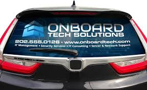 Custom Rear Window Graphics Signs Com