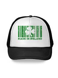 mesh hat irish american baseball caps