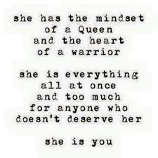 queen and the heart of a warrior she