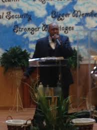 Pastor Byron Thompson preaching the... - The Lighthouse of Hope ...
