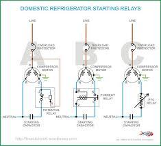 Domestic Refrigerator Starting Relays Refrigerator Compressor Refrigeration And Air Conditioning Refrigerator