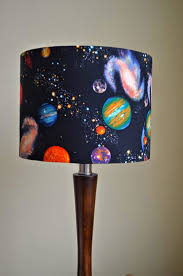Planet Lampshade Stars Lamp Shade Space Birthday Gift Kids Etsy Space Themed Room Star Lampshade Space Themed Nursery