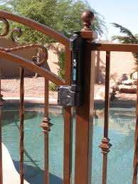 Wrought Iron Pool Safety Fence Examples Sun King Fencing