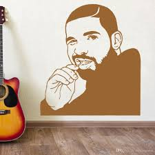 Artwork Funny Drake Mural Wall Vinyl Decal Top Musician Rapper Vinyl Sticker Art Home For Decor Bedroom Bedroom Stickers For Walls Bedroom Wall Decals From Onlinegame 10 49 Dhgate Com