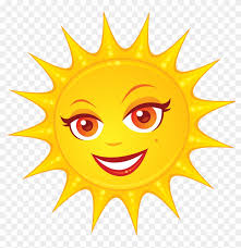 Солнце С Лицом Sunny Logo, Happy Sunshine, Cute Sun, - Clip Art Of Sun, HD  Png Download - 1024x1001(#3029761) - PngFind