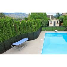 Water Warden 5 Pool Safety Fence Walmart Com Walmart Com