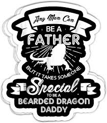 Amazon Com Nana Store Bearded Dragon Daddy 4x3 Vinyl Stickers Laptop Decal Water Bottle Sticker Set Of 3 Home Kitchen