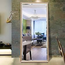 h a full length floor mirror