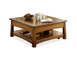 square lift top coffee table