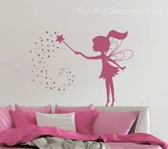 Vinyl Fairy Wall Decal Free Us Shipping Wall Vinyl Decor Wall Decals Fairy Bedroom