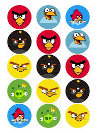 Angry Birds Bottle Cap Angry Birds Bird Crafts