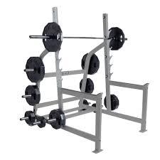 hammer strength platinum squat rack