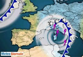 Meteo Italia: ECCESSIVO Maltempo tra oggi e domani, poi cambia ...