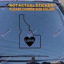 Idaho Home Car Vinyl Decal Pick Your Color Home Garden Children S Bedroom Boy Decor Decals Stickers Vinyl Art