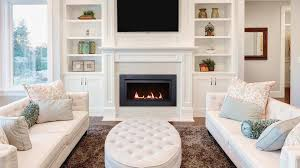 linear gas fireplace the langley 36