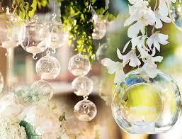 hanging glass globe terrarium candle