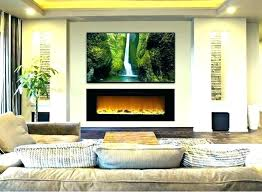 living rooms with electric fireplace