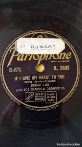 disco 78 rpm - parlophone - denise lor - joe ca - Comprar Discos ...