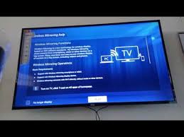 mirror screen pc and tcl smart tv you