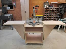 Build A Folding Miter Saw Stand Wilker Do S