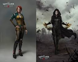showing triss the witcher wallpaper hd