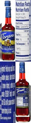 torani raspberry syrup sugar free