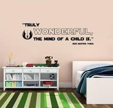 Star Wars The Mind Of A Child Quotes Wall Sticker Decal Sq168 Decalz Co