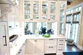 glass wall kitchen cabinets