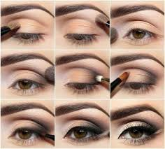 evening makeup looks for brown eyes