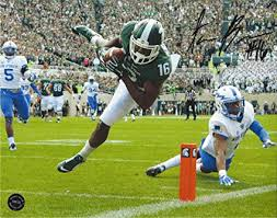 Aaron Burbridge Michigan State Spartans Autographed 8x10 at ...