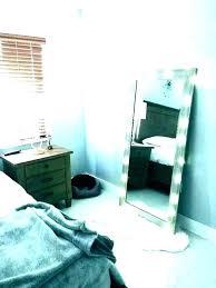 decorative mirrors bedroom wall