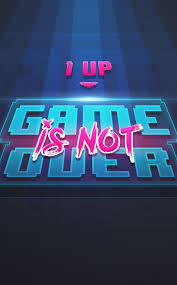 game over up art x gaming