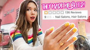 worst reviewed nail salon in my city