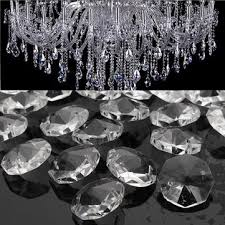 chandelier pendant lamp prisms parts