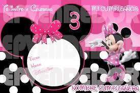 Invitaciones De Cumpleanos De Minnie Para Descargar Gratis 28