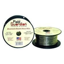 Field Guardian 120 Ft 14 Gauge Aluminum Wire Af14120 The Home Depot