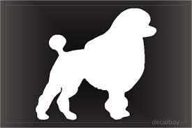 Poodle Decals Stickers Decalboy
