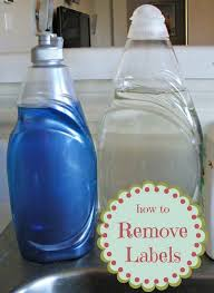how to remove plastic adhesive stickers
