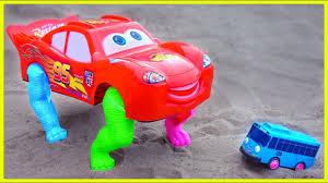 Đồ chơi ô tô cần cẩu máy xúc xe tăng - nhạc thiếu nhi #41 - WTBBLUE