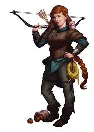 f halfling rogue thief scout leather